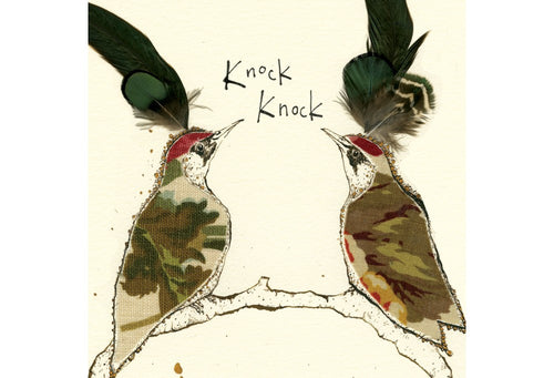 Knock Knock Greeting Card