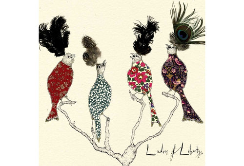 Ladies of Liberty Greeting Card