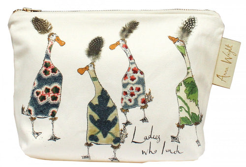 Ladies Who Lunch Make Up Bag
