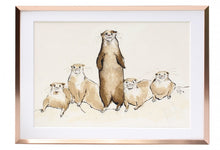 "Load image into Gallery viewer, ""Me & My Pals"" A4 Signed Print"