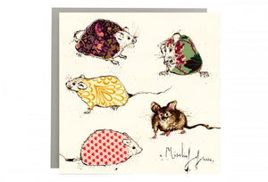 A Mischief of Mice Greeting Card