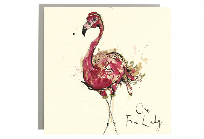 One Fine Lady Greeting Card