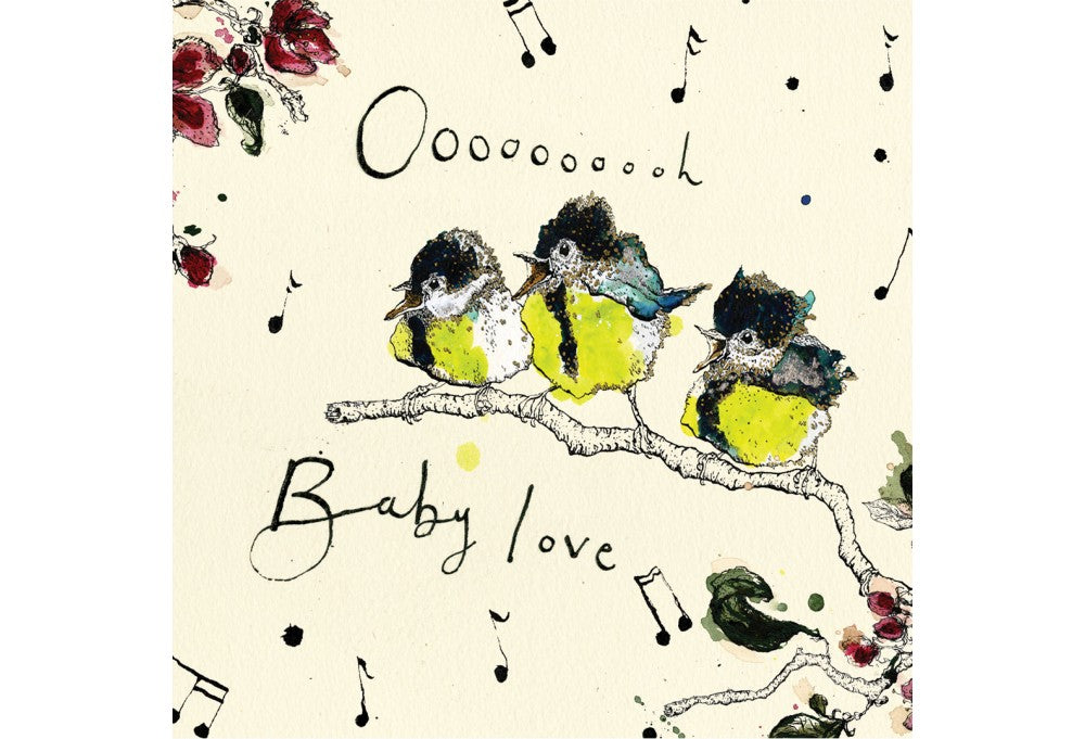 Oooh Baby Love Greeting Card