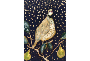 """Partidge in a Pear Tree""  Small Signed Print"