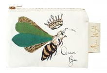 Load image into Gallery viewer, Queen Bee Coin Purse