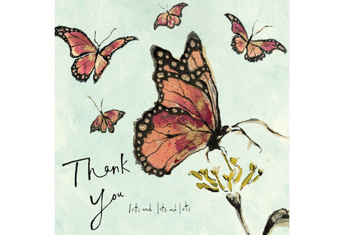 Thank You Lots and Lots Greeting Card