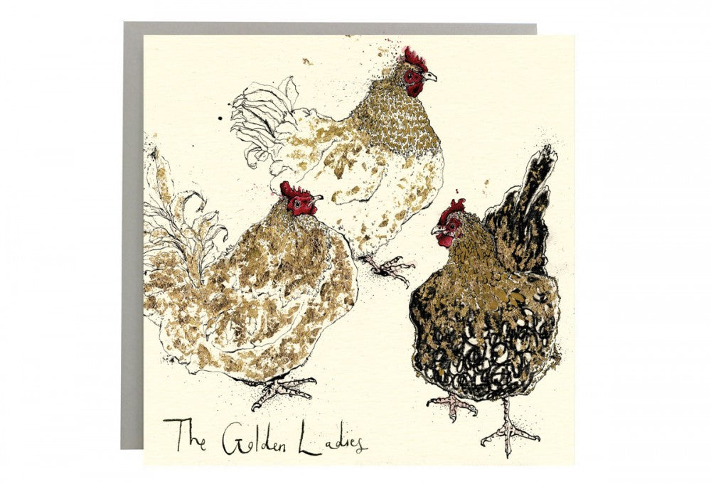 The Golden Ladies Greeting Card