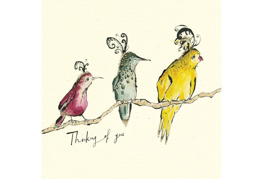 Thinking of You - Birds Greeting Card
