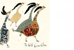 Wild Goose Chase Greeting Card