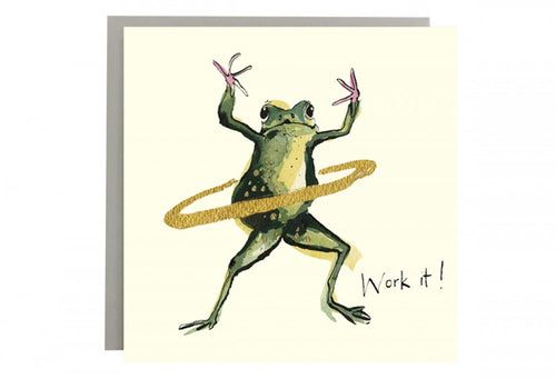 Work It! Greeting Card