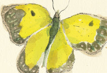 "Load image into Gallery viewer, ""Yellow Butterfly""  Extra Mini Signed Print"