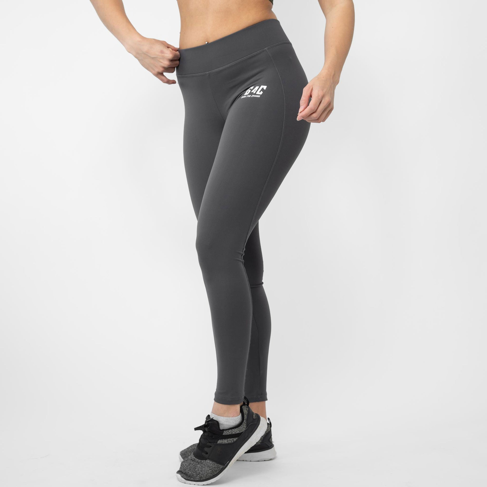 Gainz4Change Highwaist Leggings Athletia charcoal - Gainz4Change