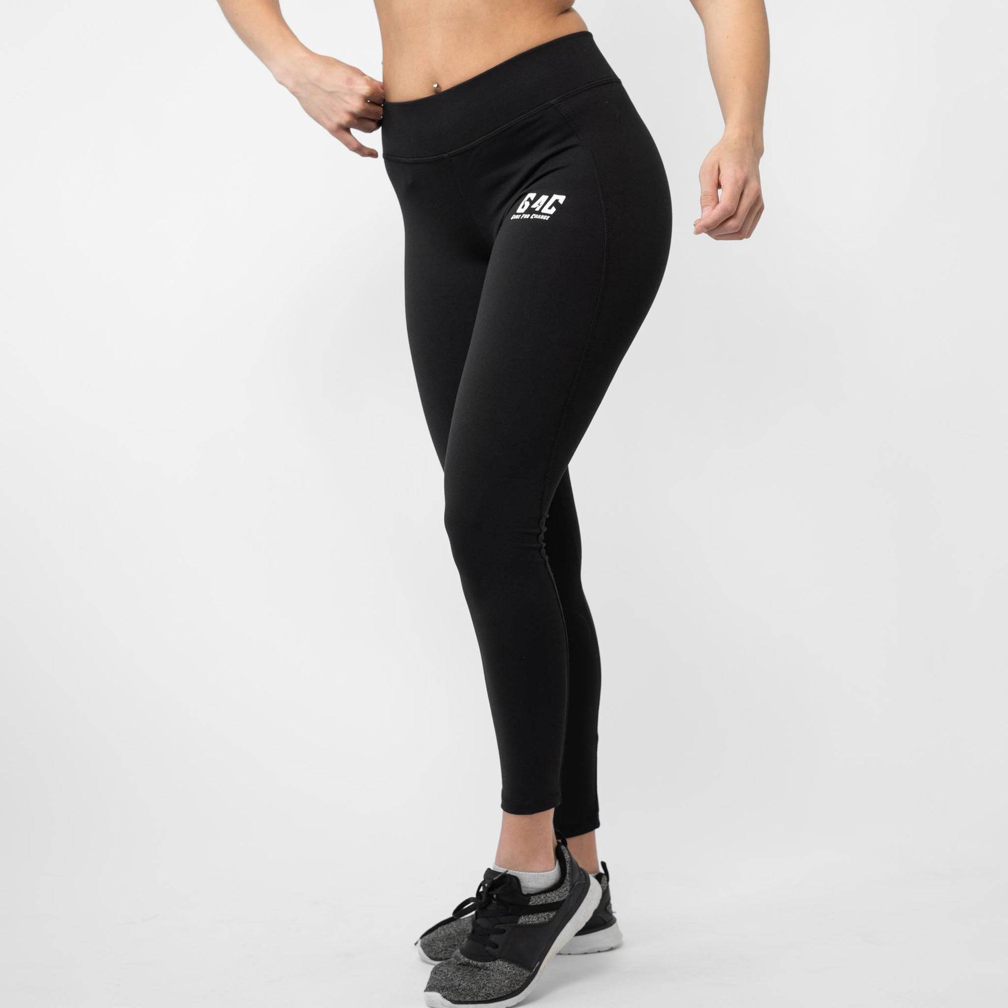 Gainz4Change Highwaist Leggings Athletia black - Gainz4Change