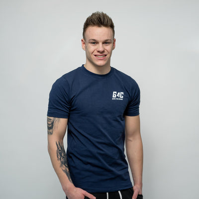Gainz4Change Performance Shirt navy-blue - Gainz4Change