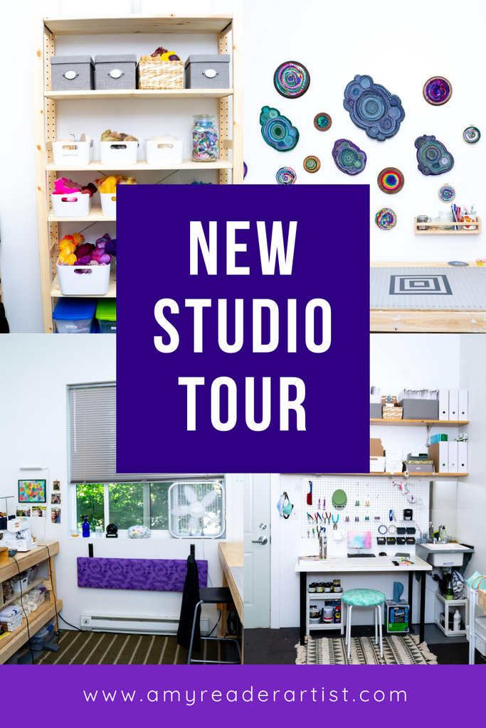 My Experience Moving and Setting Up a New Art Studio