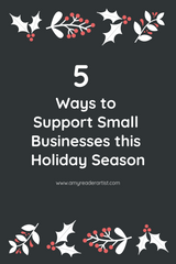 5 Way to Support Small Businesses this Holiday Season