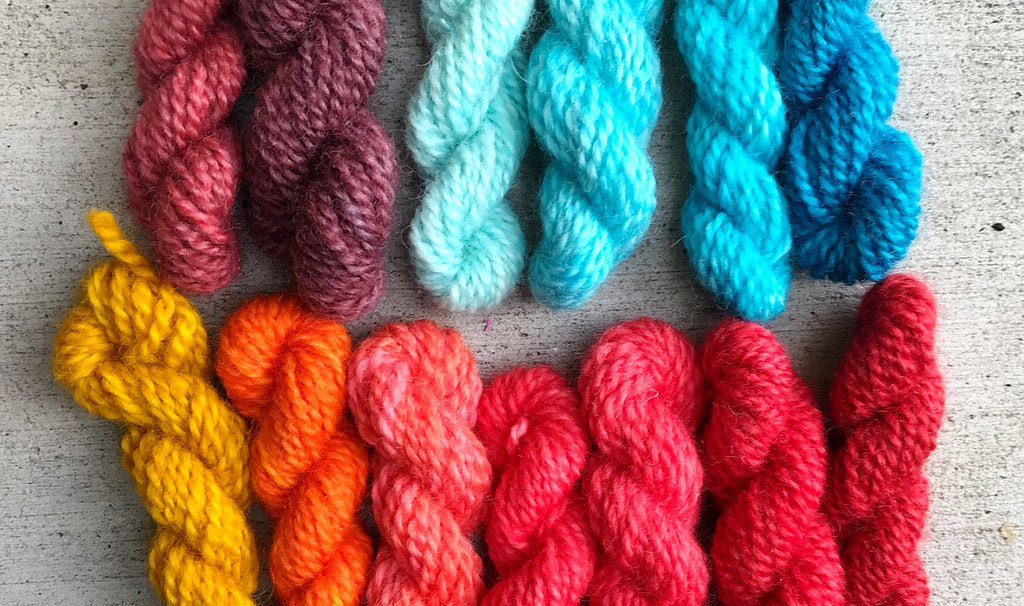 How I transformed wool with $0.20, a packet of Kool-Aid, and...