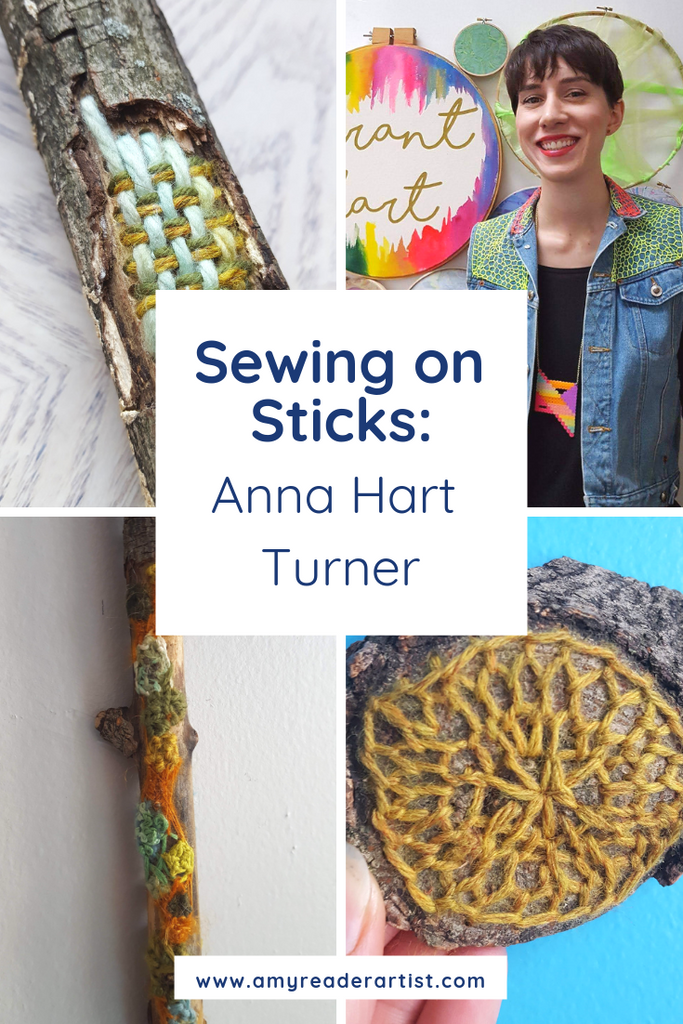 Anna Hart Turner - Sewing on Sticks