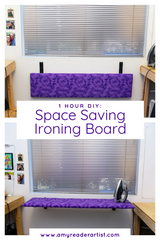 DIY Space Saving Ironing Board