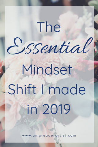 The essential mindset shift I made in 2019 that led to me being more productive, more proactive, and more intentional about the entire year. It changed my approach each day and how I prioritize my weeks and reflect on my progress. Click through to read what this change is and how it has changed what I do!