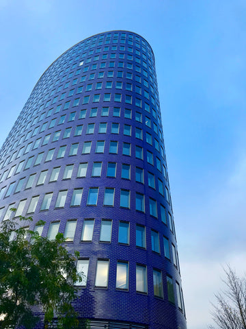 Ellipson office building in Dortmund, Germany - taken by Amy Reader Aritst