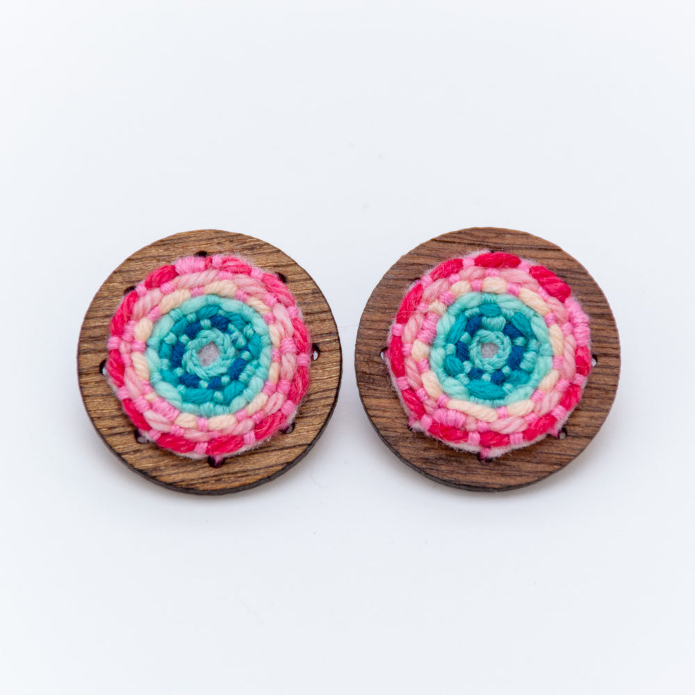 XL Light Rainbow Studs