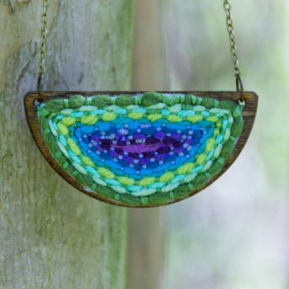 The Reef Half Circle Pendant, Necklace,  [variant_title] - Amy Reader ,