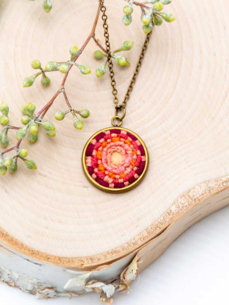 Mini Pendant Necklace