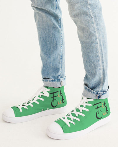 Emerald Men's Hightop Canvas Shoe