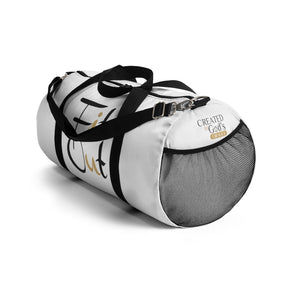 White Duffle Bag