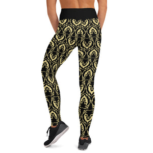 Black Lion Yoga Leggings