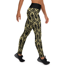 Load image into Gallery viewer, Black Lion Yoga Leggings