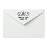 Blossom Return Address Stamp