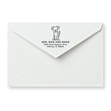Dog Return Address Stamp