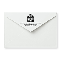 House Return Address Stamp