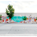 Living Walls x The Spanx Foundation Mural