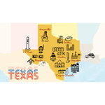 """The Ultimate Texas Road Trip"" by Curbed"