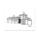 House Portrait Art Print