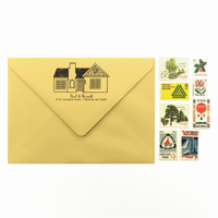 Custom House Return Address Stamp