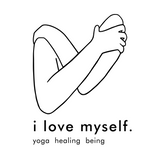 I Love Myself Yoga Logo