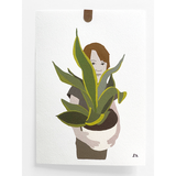 """People And Their Plants"" Portrait"