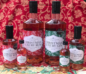 Christmas Luxury Rum and Gin - Get some while you still can !