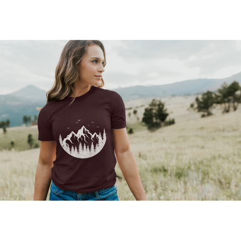 Unisex Adult T-Shirt | The Mountain Escape Tee
