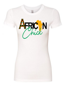 African Chick Tee