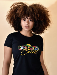 Caribbean Chick Tee
