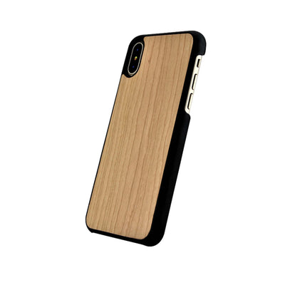 Funda para iPhone de madera de Cerezo