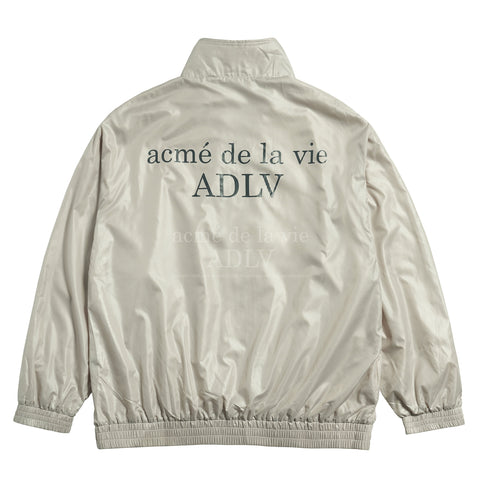 アクメドラビ(acme' de la vie) GLOSSY WOVEN SET-UP JACKET BEIGE