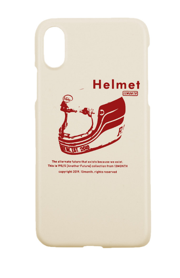 サーティーンマンス(13MONTH) HELMET IPHONE CASE (IVORY)