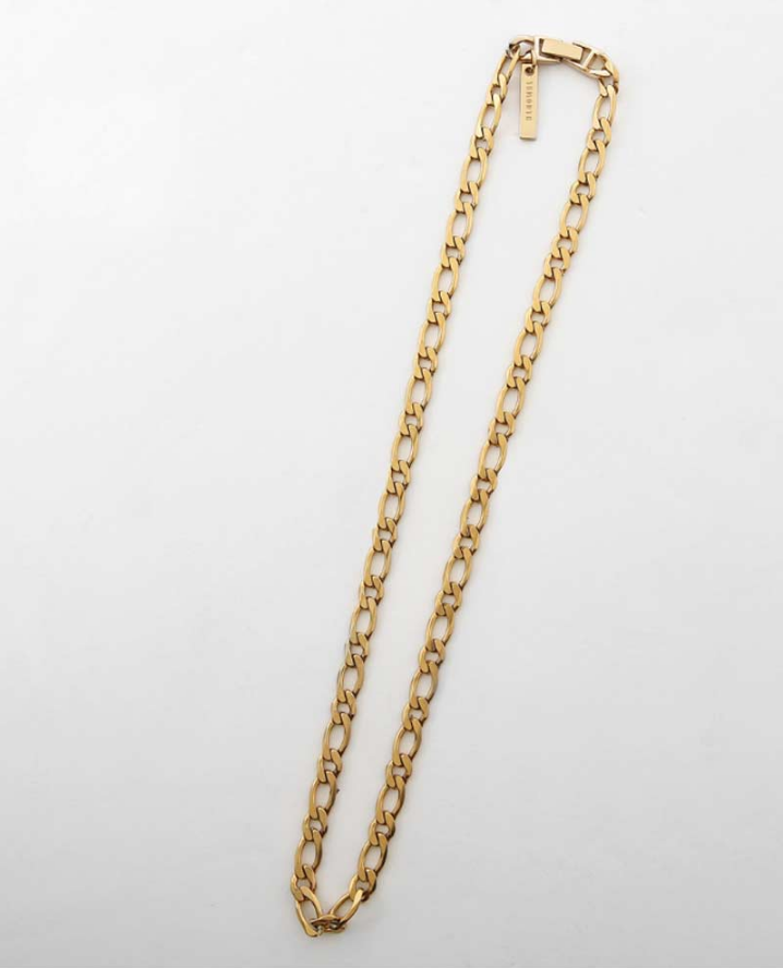 サーティーンマンス(13MONTH) GOLD CHAIN NECKLACE (GOLD)