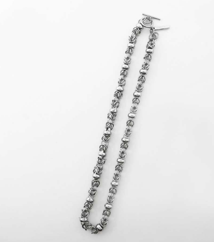 サーティーンマンス(13MONTH) RING CHAIN NECKLACE (SILVER)
